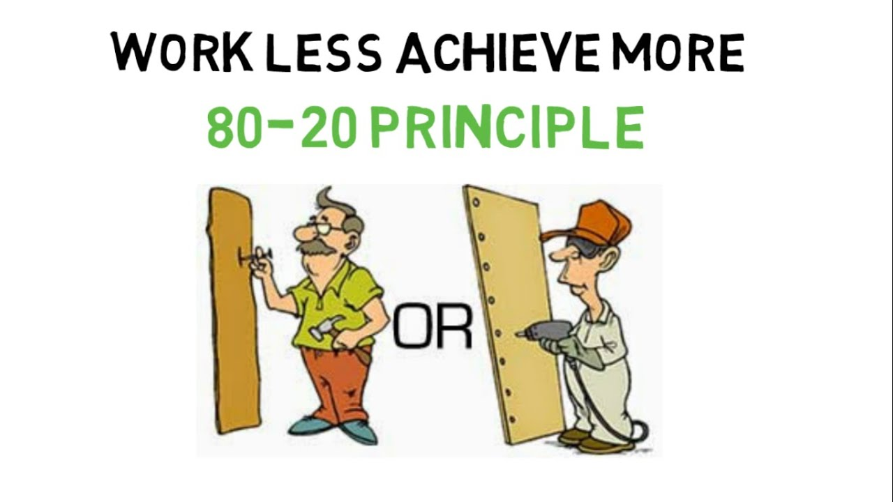80/20 Pareto Principle at Work