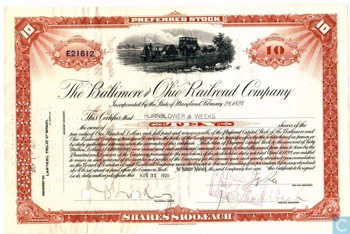 Preferred Share Certificate